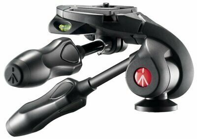 Manfrotto MH293D3-Q2 290 Series 3-Way Photo Head with Compact Foldable Handles