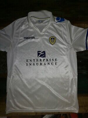 Leeds United Home Shirt 2011-12 Size XLJ