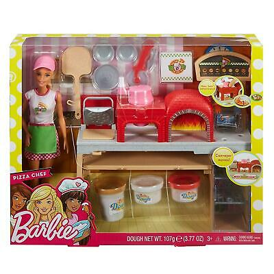 Barbie FHR09 Pizza Chef Doll & Playset