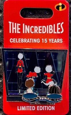 Disney Parks The Incredibles 15th Anniversary Edna Mode Pin LE3000