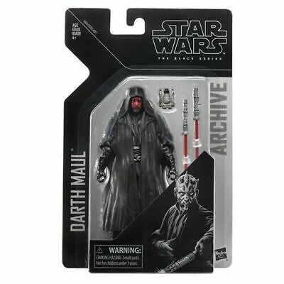 """Darth Maul ( 6"""" ) Vhtf Star Wars ( The Black Series Archive ) Action Figure 0630"""