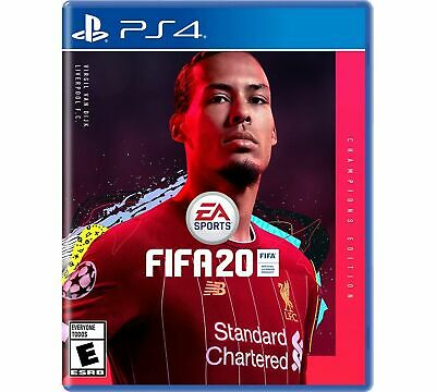 FIFA 20 Champions Edition (Sony Playstation PS4) BRAND NEW Sealed
