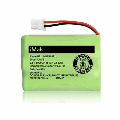 iMah Ryme B21 Battery Compatible with Motorola Baby Monitor MBP33XL MBP481 VTech