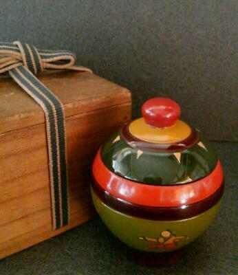 Tea Caddy Ceremony Chaire Sado Japanese Traditional Crafts t500
