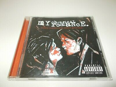 My Chemical Romance Three Cheers For Sweet Revenge CD 2004 Reprise PUNK ROCK EMO