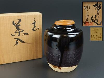 Tea Caddy Ceremony Chaire Sado Japanese Traditional Crafts t526