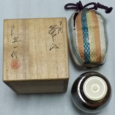 Tea Caddy Ceremony Chaire Sado Japanese Traditional Crafts t527