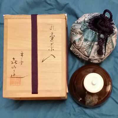 Tea Caddy Ceremony Chaire Sado Japanese Traditional Crafts t528