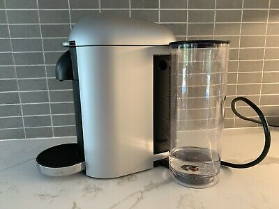 Nespresso VertuePlus Silver Coffee Machine