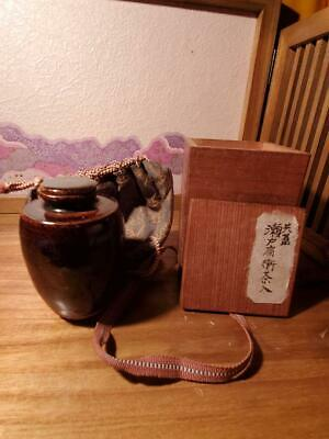 Tea Caddy Ceremony Chaire Sado Japanese Traditional Crafts t596