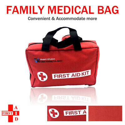 First Aid Kit Family Supplies Medical Workplace Travel Set AU