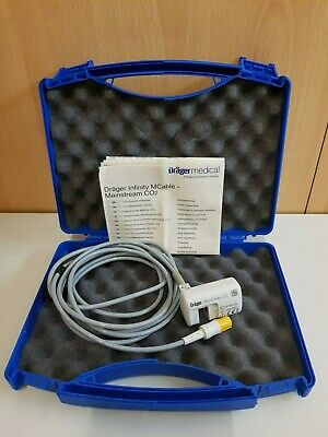 drager 6871950-04 mcable mainstream CO2 sensor for dreager patient monitor