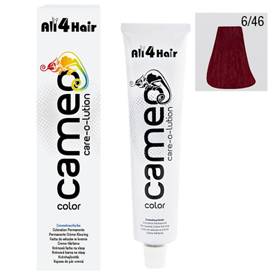 Cameo Color - Haarfarbe 6/46 dunkelblond int. rot violett