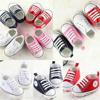 Infant Toddler Sneakers Baby Boys Girls Soft Sole Crib Shoes Newborn to 18Months