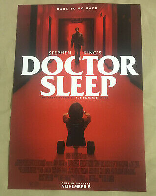 DOCTOR SLEEP ORIGINAL Movie Poster Redrum The Shining Stephen King NYCC 2019