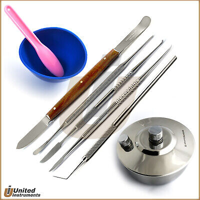 Dental Lab Technician Kit Danture Wax and Modelling Carving Carver Surgical Tool