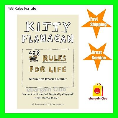 488 Rules For Life by Kitty Flanagan Paperback eBC