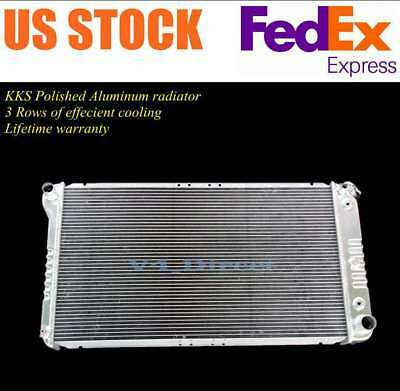 Radiator For 91-93 Chevrolet Caprice Buick Roadmaster 1 Row W// Eng Oil Cooler