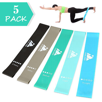 13 Pieces Resistance Bands Set Workout Exercise Gym Oga Crossfit Fitness Tubes