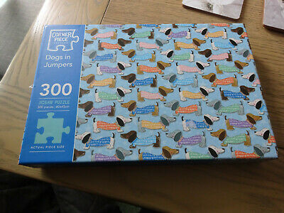 DOGS IN JUMPERS 300 Piece Jigsaw Puzzle