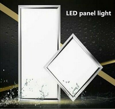 LED Recessed Ceiling Flat Panel Down Light Ultra Slim Cool & Warm White Lamp