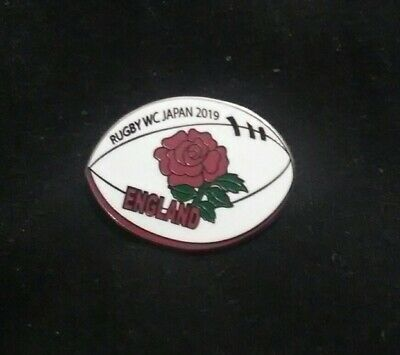 England World Cup Rugby Japan 2019 Enamel Pin Badge...rare