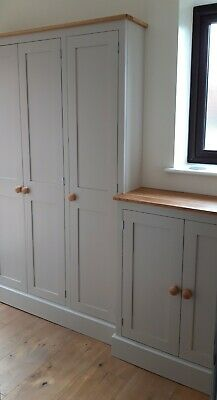 Coat and Shoe Storage Combination Cupboard - 2 metre long