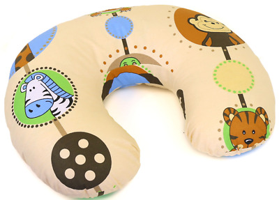 Feeding Pillow Baby Breast Pregnancy Maternity + Removable Cover Jungle