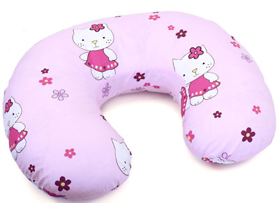 Feeding Pillow Baby Breast Pregnancy Maternity + Removable Cover Hello Kitty