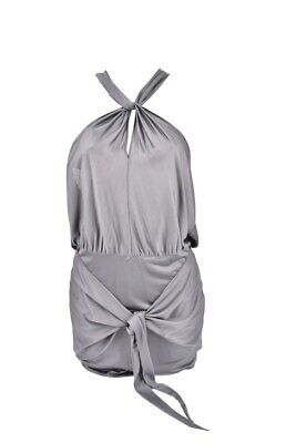Agent Provocateur Womens Draped Cover Up Solid Grey Size AP 2