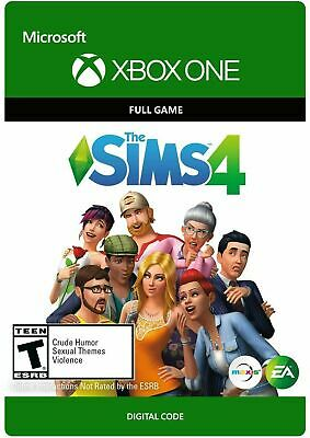 the sims 4 XBOX ONE FULL GAME KEY