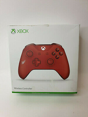 Official Microsoft Xbox One Wireless Controller - Red