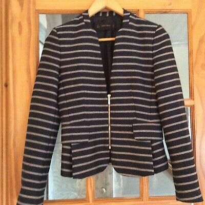 ZARA LINEN JACKET, Size Small, Immaculate Condition. EUR