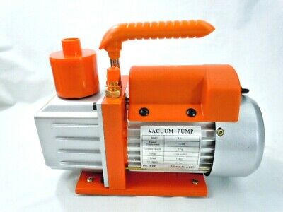 Best Value Vacs RS 1 Vacuum pump 5pa 1/4HP FAD 3 cfm Extra Oil and Booklet