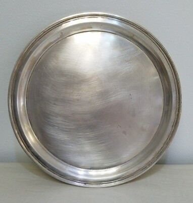 Vintage Tiffany&Co Sterling Silver Tray #21253  Weights Over 612 Grams