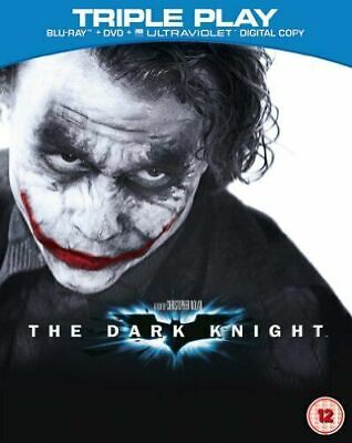 The Dark Knight (Blu-ray and DVD Combo, 2012, 3-Disc Set)
