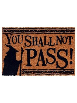 The Lord of the Rings You Shall Not Pass Door Mat 40x60cm
