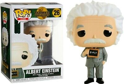 Funko Pop! Icons World History Albert Einstein #26