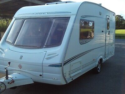 Abbey GTS Vogue 216 two berth touring caravan 2004, very good condition overall.
