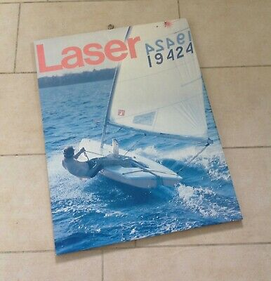 LASER class Performance sailcraft  70ies  70's oldschool vintage sailing