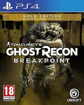 Tom Clancy's Ghost Recon Breakpoint - Gold Edition Ps4 (Multilanguage In Game)