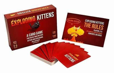 Exploding Kittens Card Game About Original PG Edition