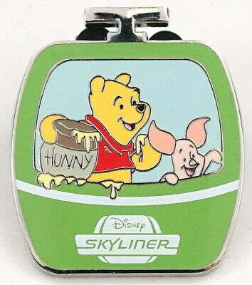 New Disney Parks Disney Skyliner Pooh & Piglet Limited Release Mystery Pin