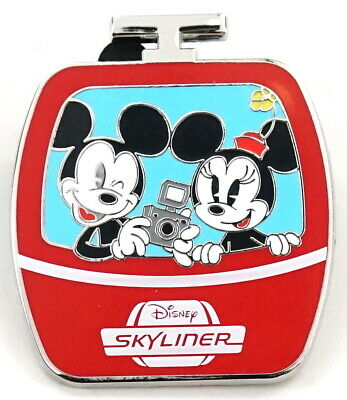 New Disney Parks Disney Skyliner Mickey & Minnie Limited Release Mystery Pin