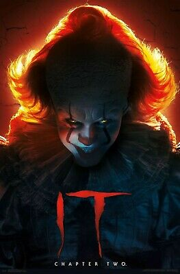 22x34 IT MOVIE CLOWN KING 16531 PENNYWISE POSTER