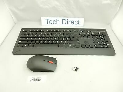 Lenovo Professional Wireless Keyboard And Mouse Combo Us