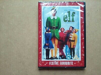 Elf - 2005 Christmas Comedy Movie - Will Ferrell (DVD) NEW & SEALED