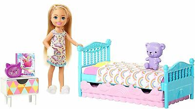Barbie - Chelsea Doll And Bedtime Playset Fxg 83 Kids Toy
