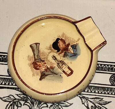 Carlton Ware Comical Theme Ashtray Made in England