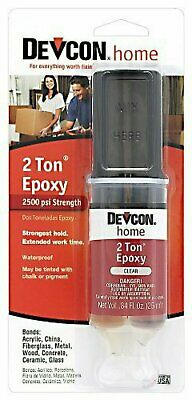 ITW Devcon 31345 6 Pack S-31 1 oz. 2 ton Epoxy, Clear